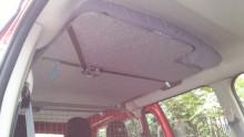 Renault Kangoo Maxi Autohimmelbett hochgeschwenkt von vorne