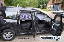 Dacia Logan heruntergeschwenktes Auto-Himmelbett Verdunklungsstoff