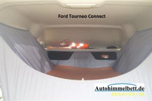 Ford Tourneo Connect Auto-Himmelbett Foto in das Bett hinein
