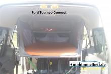Ford Tourneo Connect Auto-Himmelbett Verdunkelungsstoff eingehängt sehr viel Platz im Bett und darunter