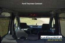 Ford Tourneo Connect Auto-Himmelbett hochgeschwenkt viel Kopffreiheit