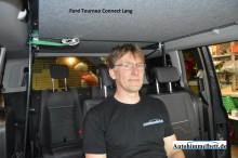 Ford Tourneo Connect Lang Neu Auto Himmelbett Sitzbank Kopffreiheit Bequem Sitzen